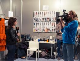 Jessica Conzen STALYGALMAIC AW 15/16 Backstage