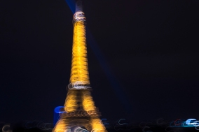 Eiffel Tower by © L.A. Cuellar, All Rights Reserved.