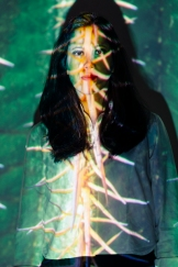 Projections with the inspirations of Claudia Paz - © L.A. Cuellar, All Rights Reserved.