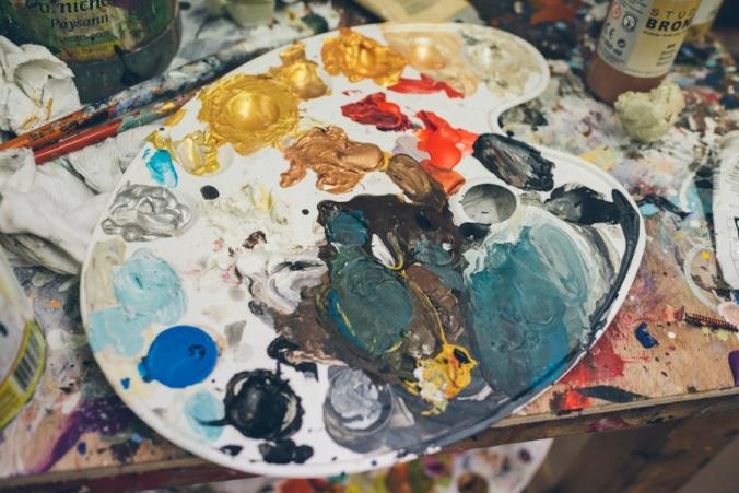 Painter Thierry Bruet
